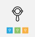 of kin symbol on beanbag vector image