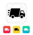 Fast delivery Truck icon vector image