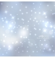 Abstract blurred background with sparkle stars vector image