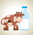 milk product vector image