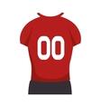 american football player uniform vector image