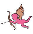 cupid angel isolated icon vector image