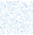 seamless swirls blue vector image vector image