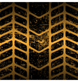 dirty tire track vector image