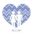 purple drops chevron couple in love vector image