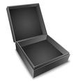 Gift Box Black vector image