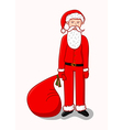 Young Santa Claus vector image