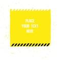 Danger Tape Background vector image