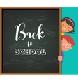 back to school - education creativity vector image vector image