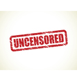 uncensored vector image