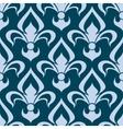 Arabesque seamless pattern with a fleur de lys vector image vector image