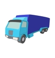 Truck cartoon icon vector image