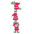 Elves Decorating vector image