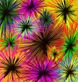 Shaggy flowers vector image
