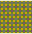 seamless pattern squares vector image vector image