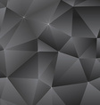 Abstract Dark Triangles Background vector image