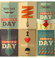 fathers day posters vector image