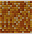 Orange Abstract Seamless Background with Dotted vector image