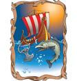 Vikings destiny vector image