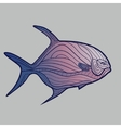 Abstract Tropical Fish vector image