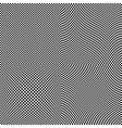 Chess board squares distortion vector image