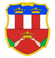 Eastern rumelia coat of arms vector image