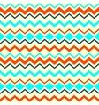 Ethnic tribal zig zag seamless pattern vector image