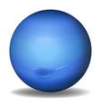 Planet Neptune vector image