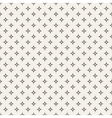Black and white abstract star seamless pattern vector image