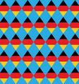 German beer festival rhombus background vector image