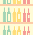 Seamless wine pattern soft vintage Vector Image
