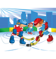 Ice Hockey vector image