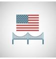 new york city design vector image