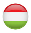 isolated flag of hungary vector image