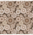 Morocco Abstract Coffee Pattern vector image