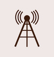 phone antenna icon on white background vector image