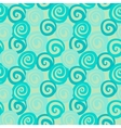 Vintage abstract seamless pattern with curl vector image