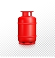 Propane gas balloon vector image