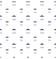 hand drawn seamless pattern in doodle style vector image