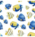 Nice fishes vector image