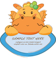 Cute Animal Tab vector image
