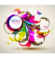 modern colored frame vector image