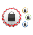 Shopping Bag Icon vector image