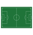 Soccer football field infographics flat app vector image