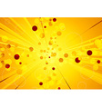 Solar explosion - shiny abstract background vector image