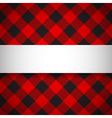 Classic tilted lumberjack plaid pattern vector image