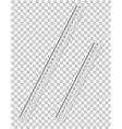 transparent ruler 01 vector image