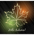 Autumn Theme vector image
