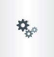 cogs icon gears symbol design element vector image