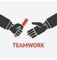relay teamwork concept symbol vector image